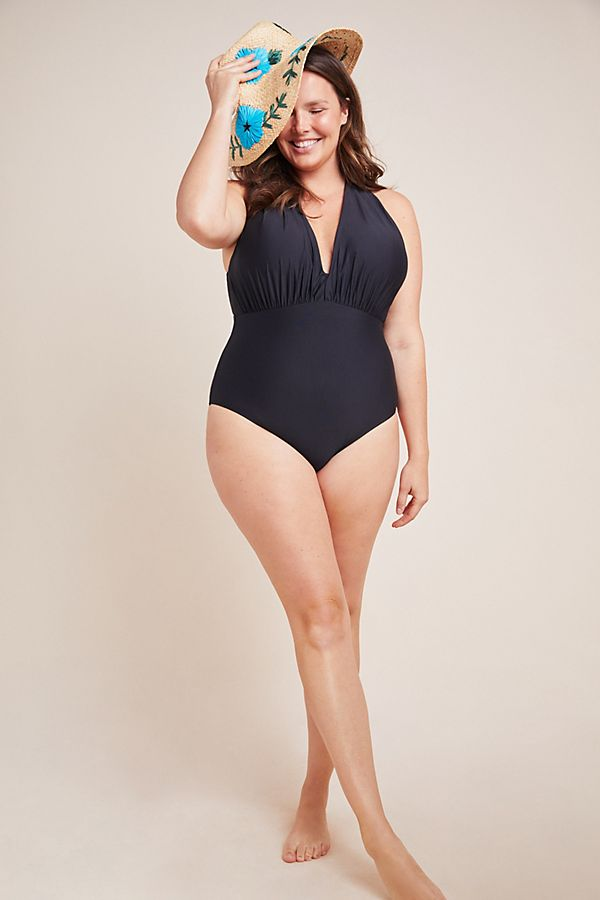 86d81741d5ea8 Anthropologie Plunge One-Piece Swimsuit | Anthropologie