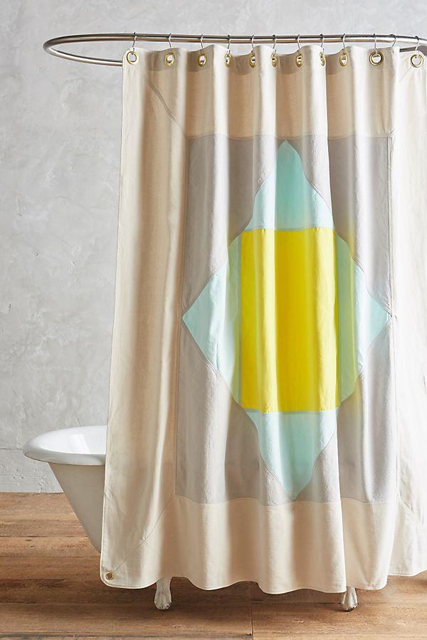 9b1cf583f64 Quiet Town Narlai Shower Curtain