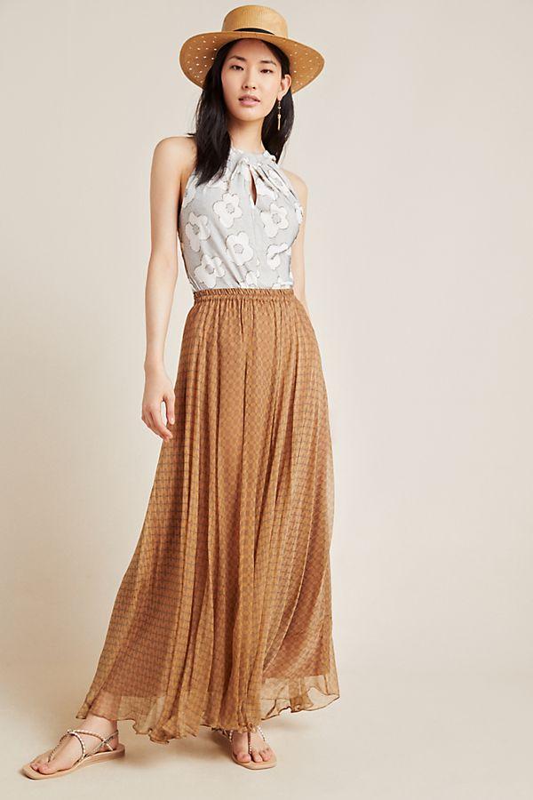 Callista A Line Maxi Skirt by Mes Demoiselles