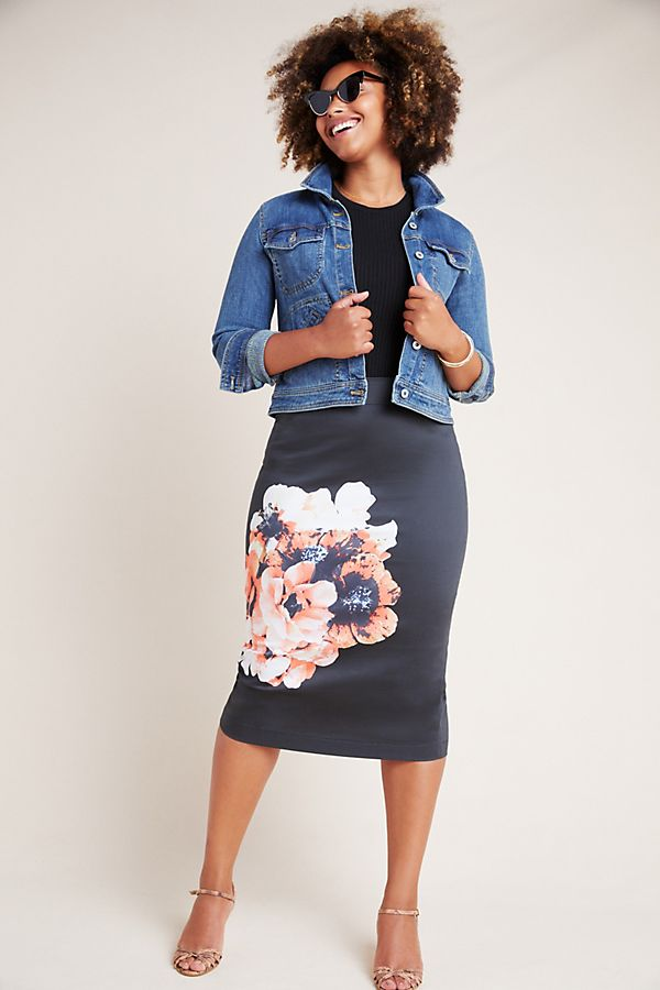 Slide View: 1: Corey Lynn Calter Sophie Pencil Skirt