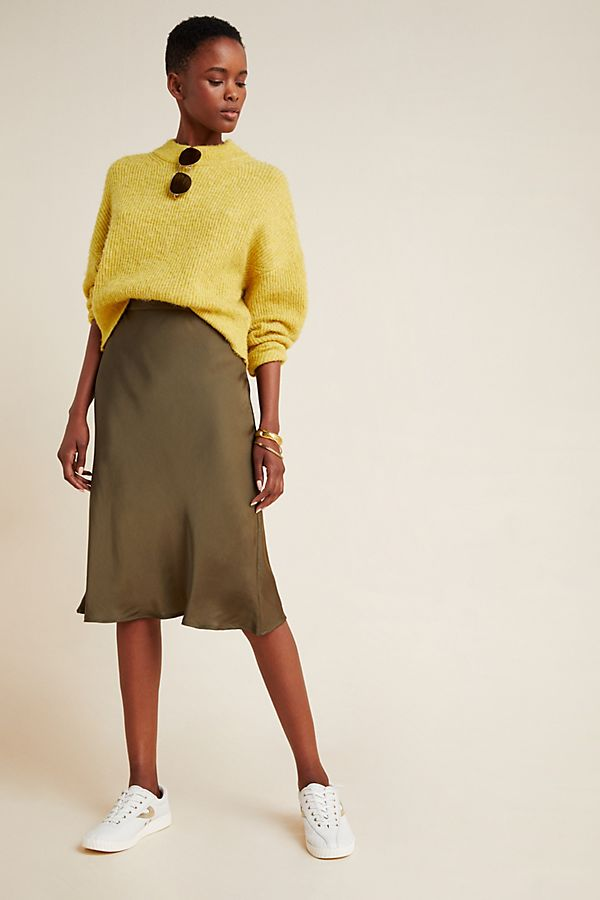 Slide View: 1: Calissa Slim Midi Skirt