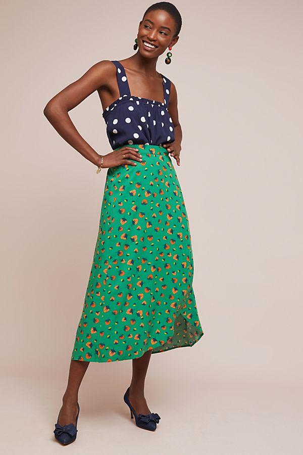 98967c2c4 Colloquial Wrap Skirt | Anthropologie UK