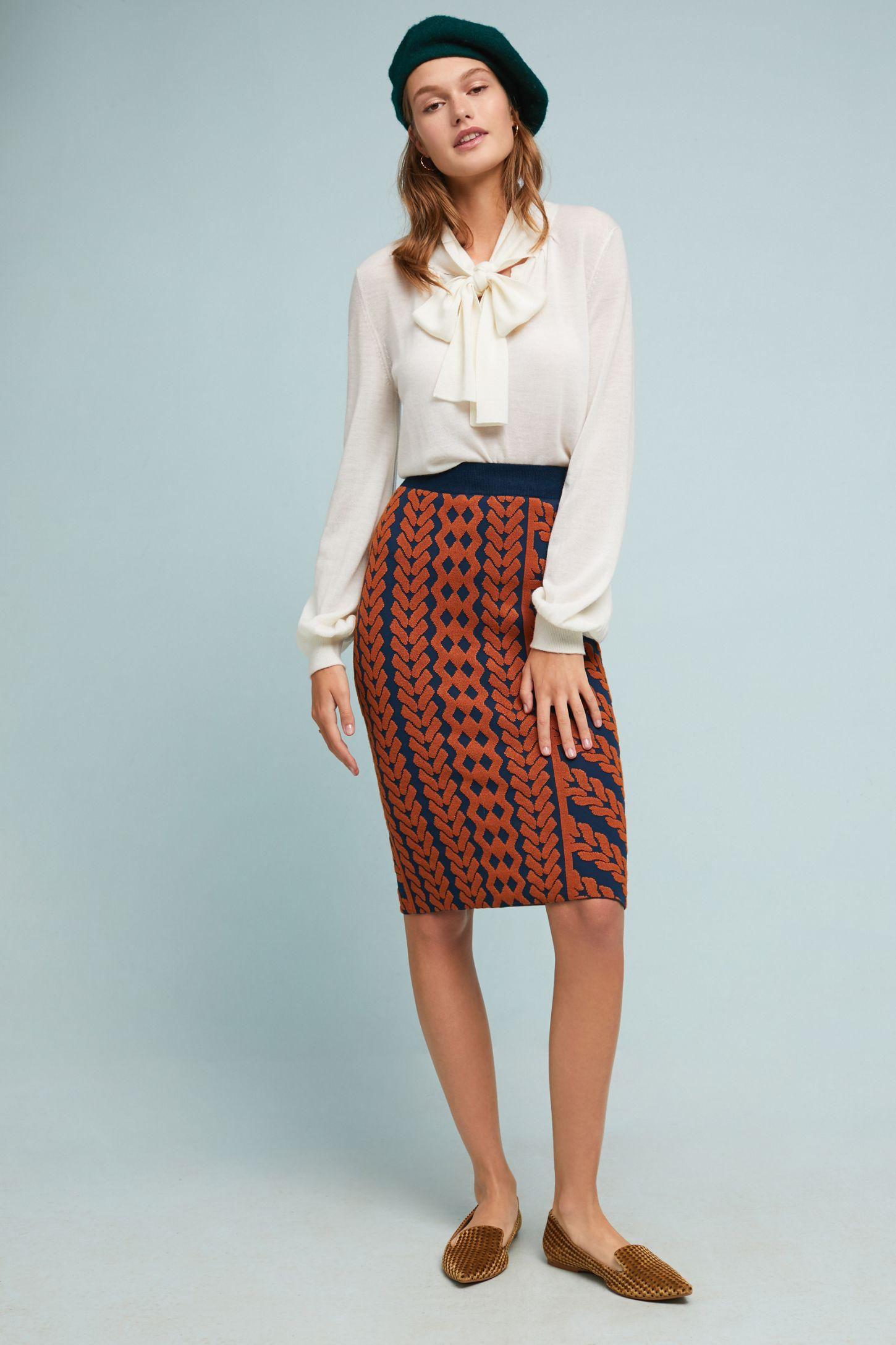 3bacd13a542a5 Geometric Pencil Skirt