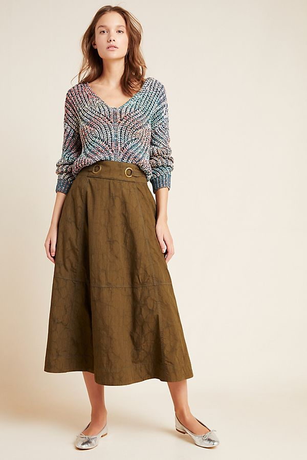 Slide View: 1: Bella Midi Skirt