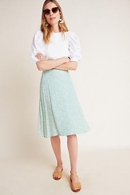 Slide View: 1: Faithfull Racquel Midi Skirt