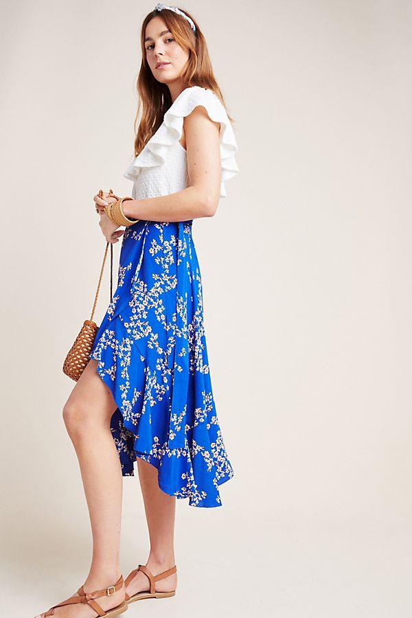 Slide View: 1: Faithfull Estel Wrap Skirt