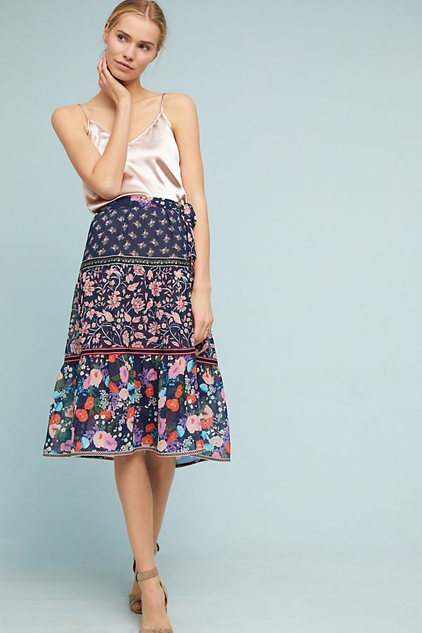 a3fe8133ac Floral Melody Skirt   Anthropologie