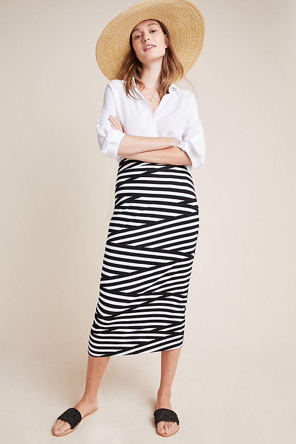Slide View: 1: Shelby Knit Skirt