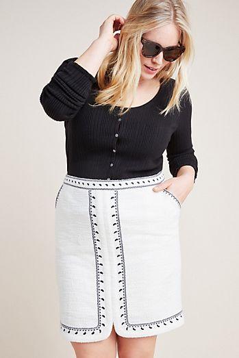 d2134ecaa96 Tulley Textured Mini Skirt