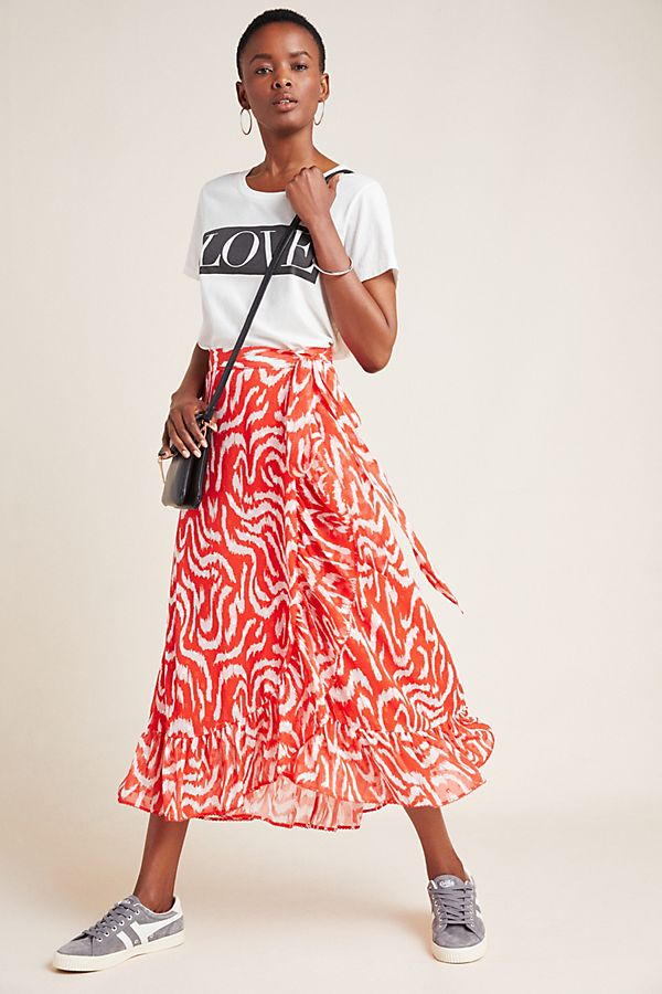 Slide View: 1: Carlita Midi Skirt