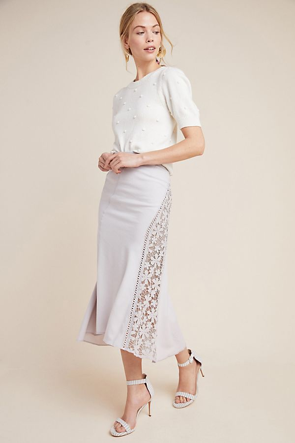 3378dd2c24 Byron Lars Floral Midi Skirt | Anthropologie