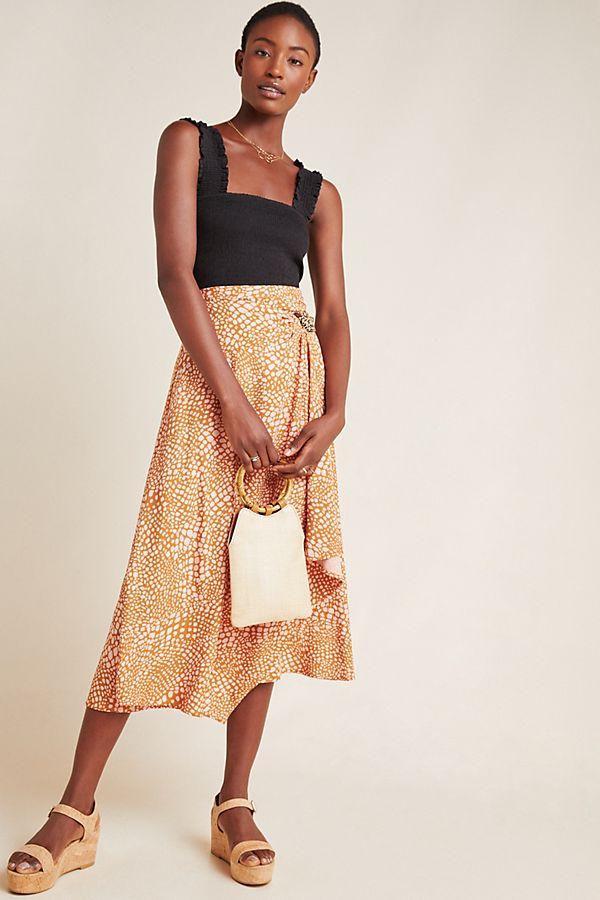 Slide View: 1: Minetta Midi Skirt
