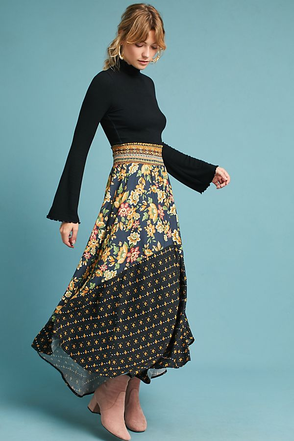 super cheap modern design variety of designs and colors Farm Rio Yolanda Maxi Skirt