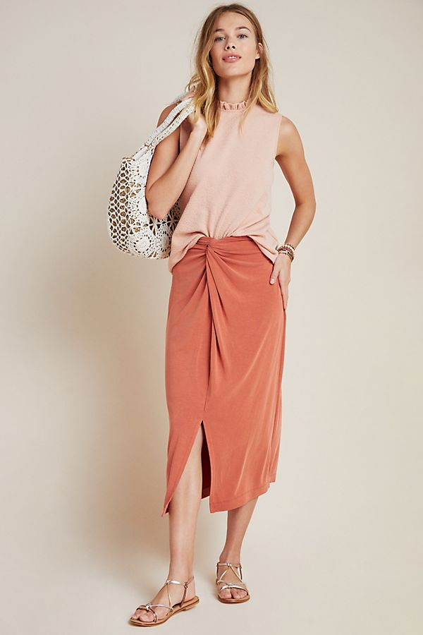 Slide View: 1: Junie Midi Skirt