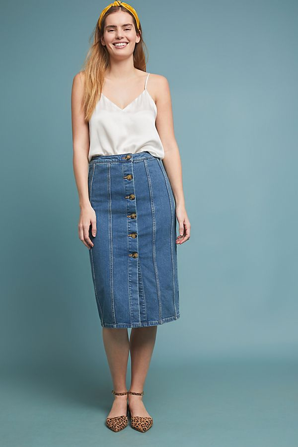e8e86f009f Pilcro Denim Pencil Skirt | Anthropologie