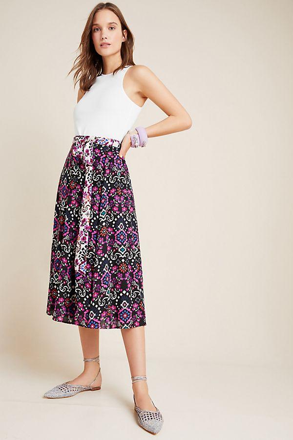 Slide View: 1: Cordelia Midi Skirt