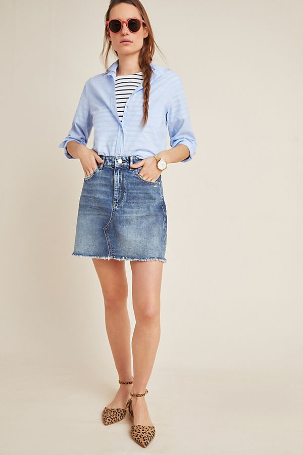 Dl1961 Georgia Denim Mini Skirt Anthropologie