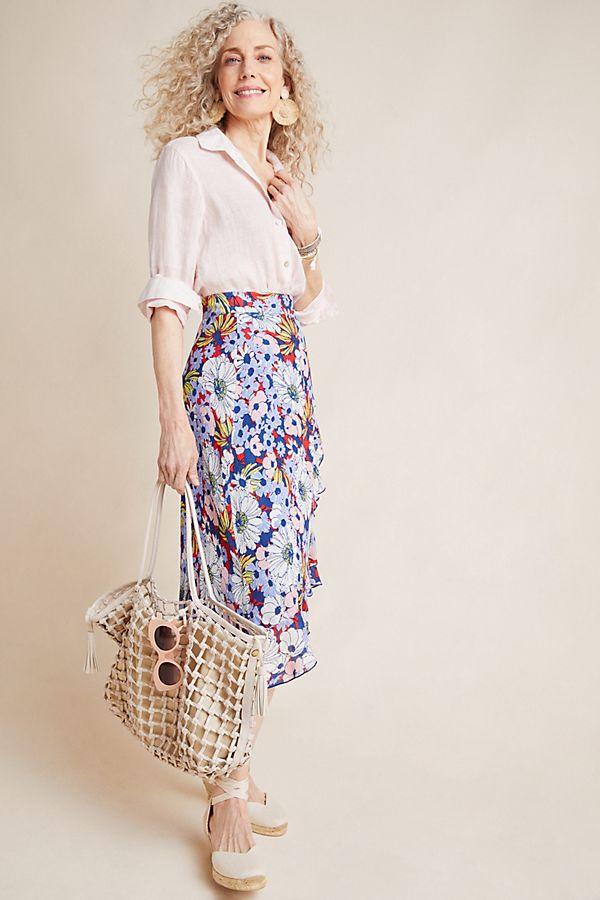 Slide View: 1: Sybil Wrap Skirt