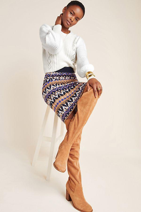 Slide View: 5: Saoirse Sweater Midi Skirt