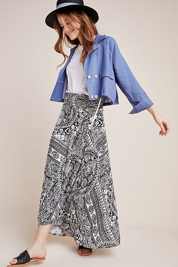 Slide View: 1: Issa Maxi Skirt