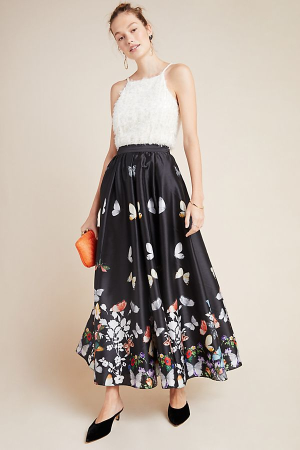 Slide View: 1: Papillon Maxi Skirt