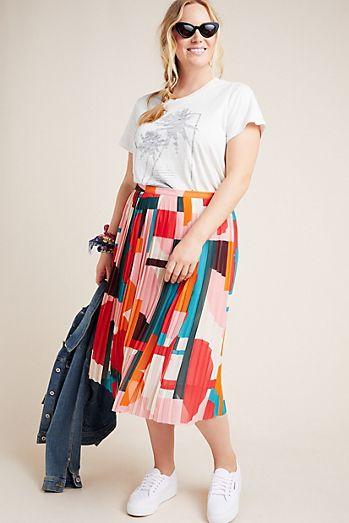 d9b70fa136 Plus Size Skirts | Maxi, Denim & More | Anthropologie