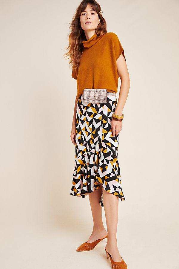 Slide View: 1: Tanya Knit Midi Skirt