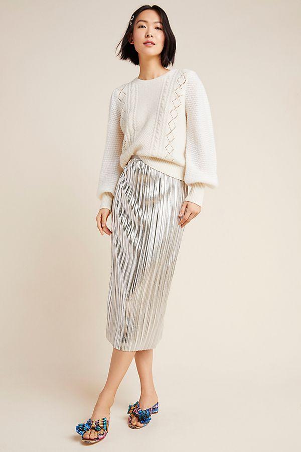 Slide View: 1: Nikola Midi Skirt