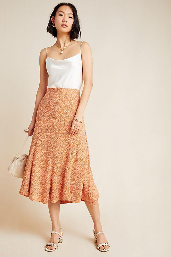 Slide View: 1: Janey Knit Midi Skirt