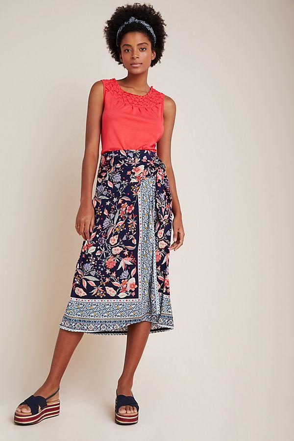 Slide View: 1: Fiorenza Midi Skirt