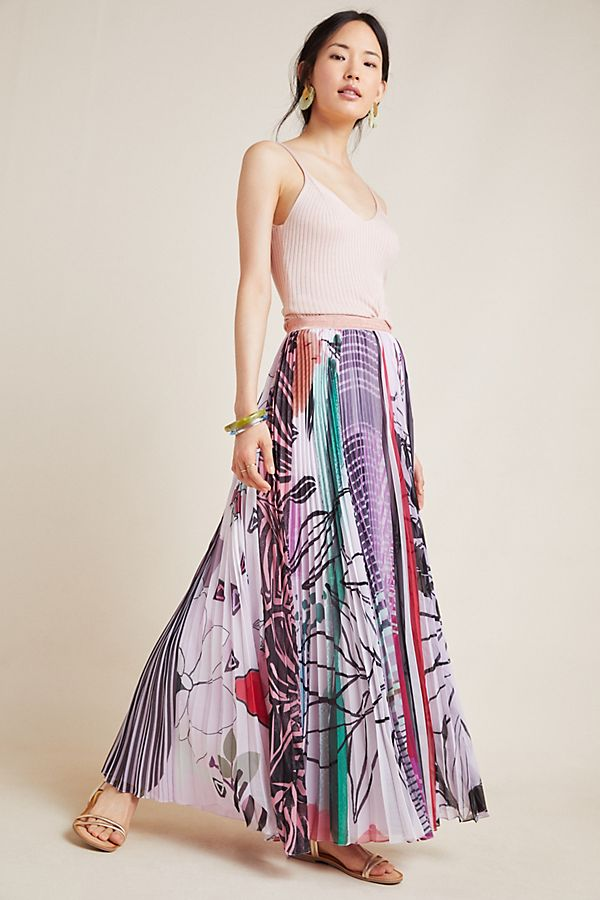 a79cbad5b56316 Junie Pleated Maxi Skirt | Anthropologie