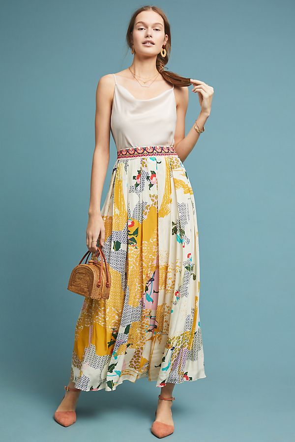 Slide View: 1: Mischa Maxi Skirt