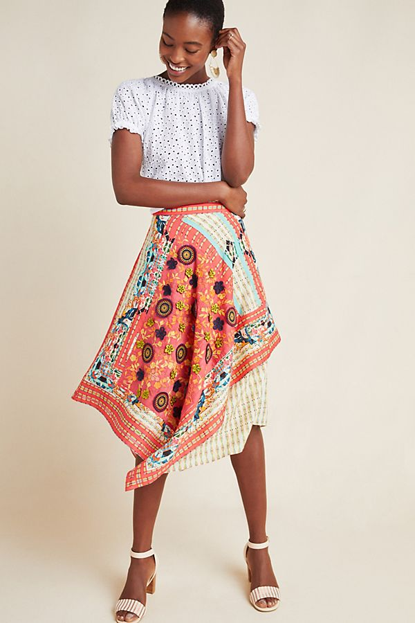 Slide View: 1: Sonatina Midi Skirt