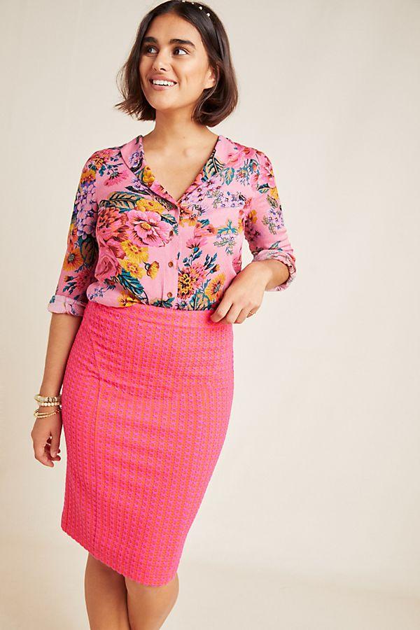 Slide View: 1: Kensington Pencil Skirt