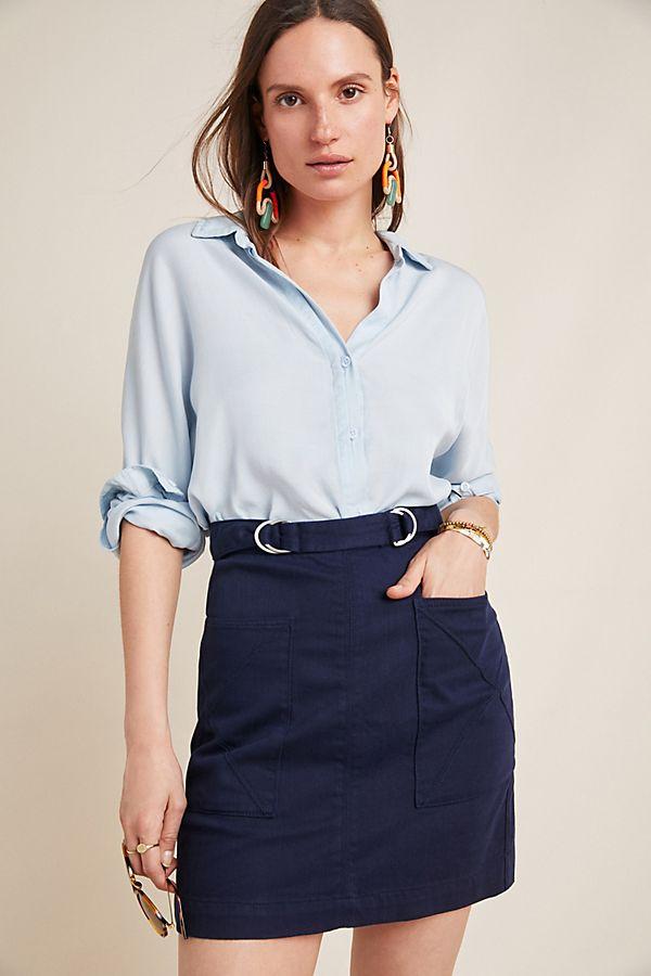 Slide View: 1: Mina A-Line Skirt
