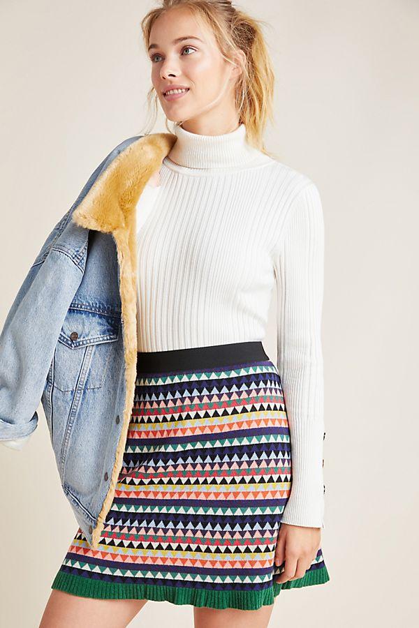 Slide View: 1: Paloma Sweater Skirt