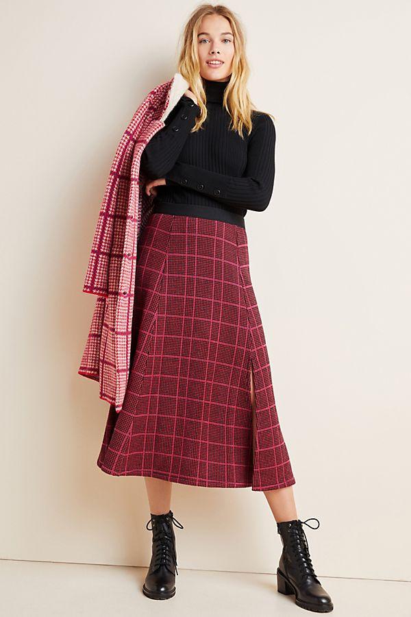 Slide View: 1: Bastienne Sweater Midi Skirt