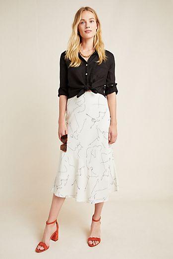 9115a6e271bb7b Maxi Skirts & Midi Skirts | Anthropologie