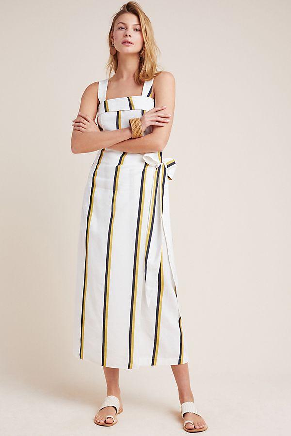 7b261e2f9a Cibilie Striped Wrap Skirt   Anthropologie