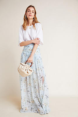 Slide View: 5: ML Monique Lhuillier Dawn Maxi Skirt