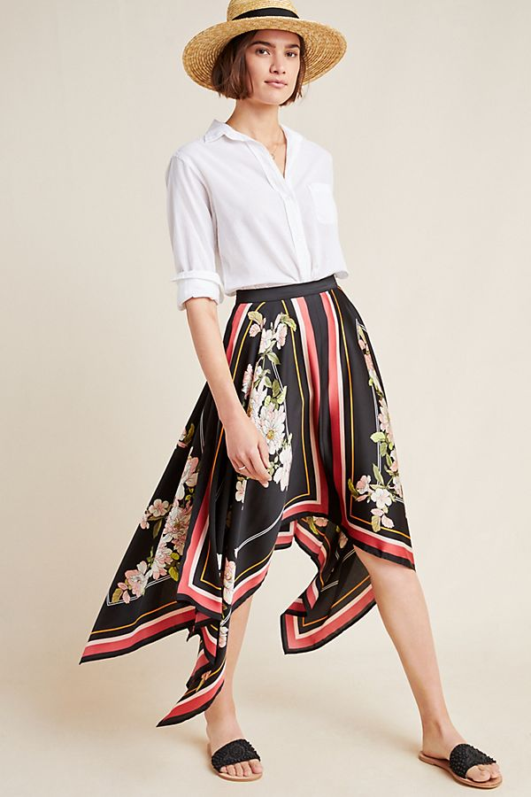 Slide View: 1: Jacqueline Midi Skirt