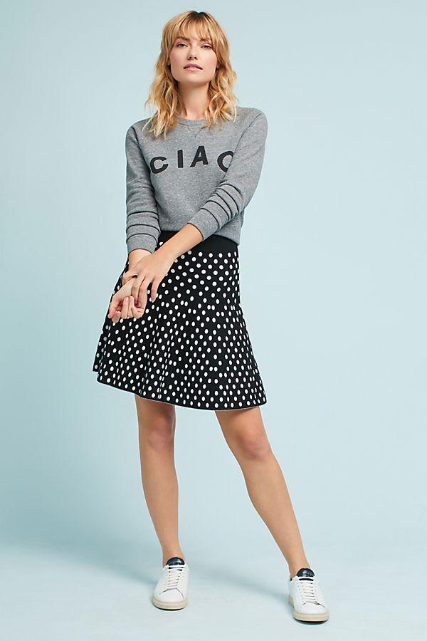 04371b902b Polka Dot Mini Skirt