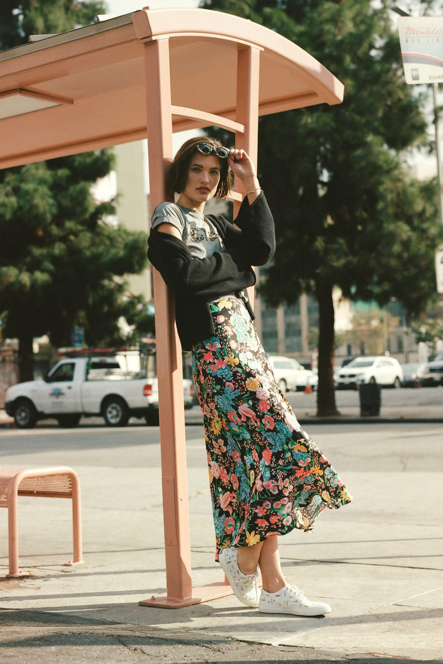 e1f5eeb76a6571 Florence Bias Midi Skirt