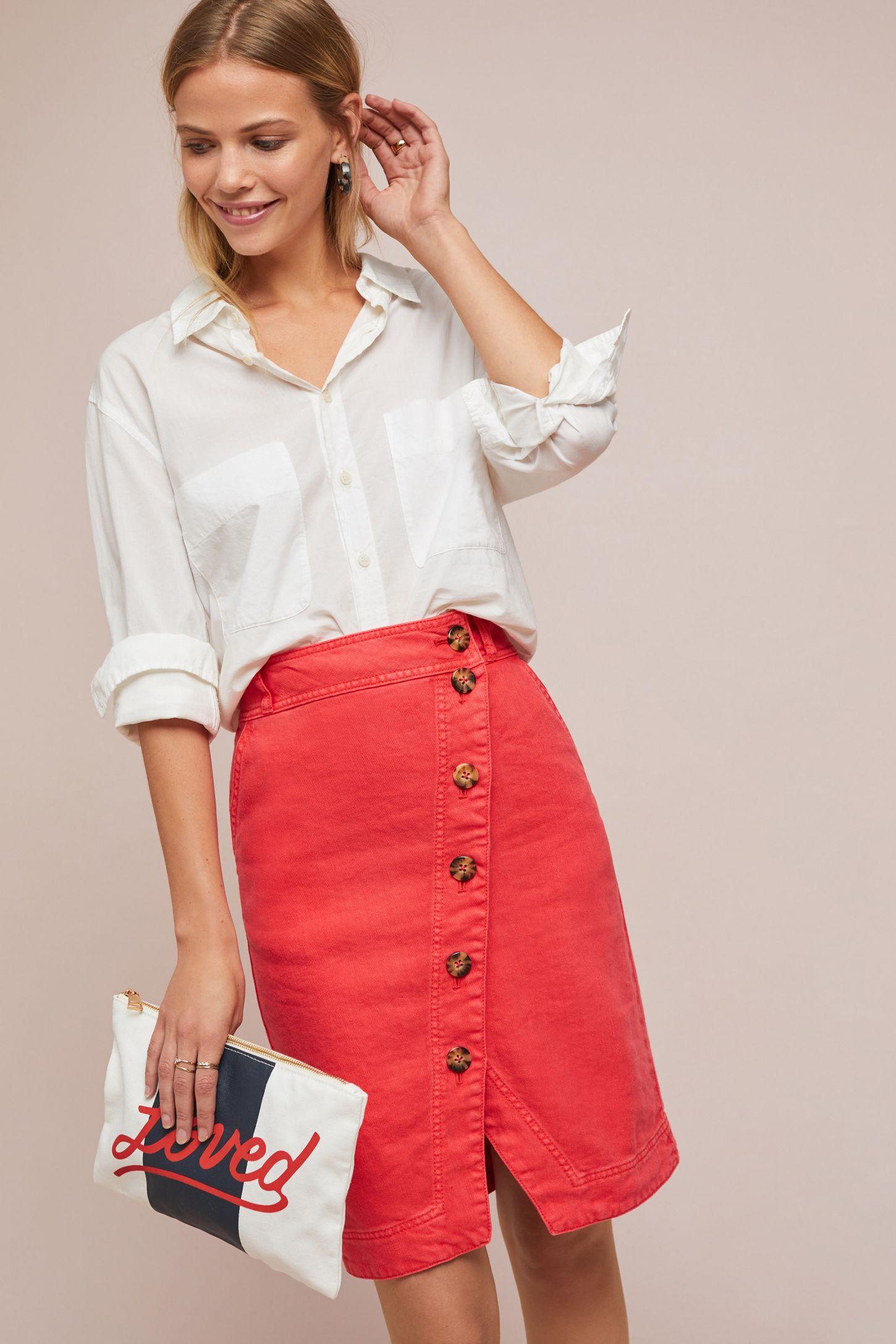 59a019130b5b7 Buttondown Pencil Skirt