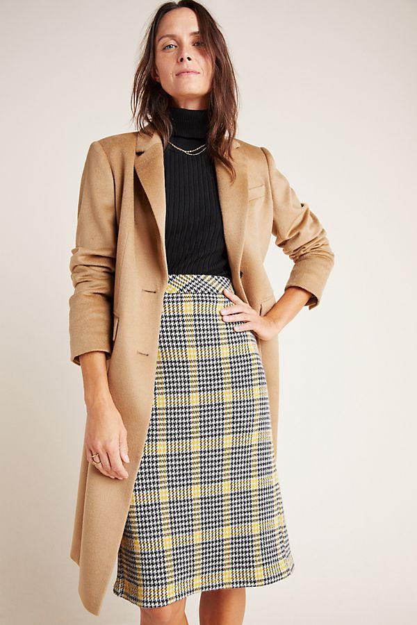Slide View: 1: Diane von Furstenberg Siella Knit Midi Skirt