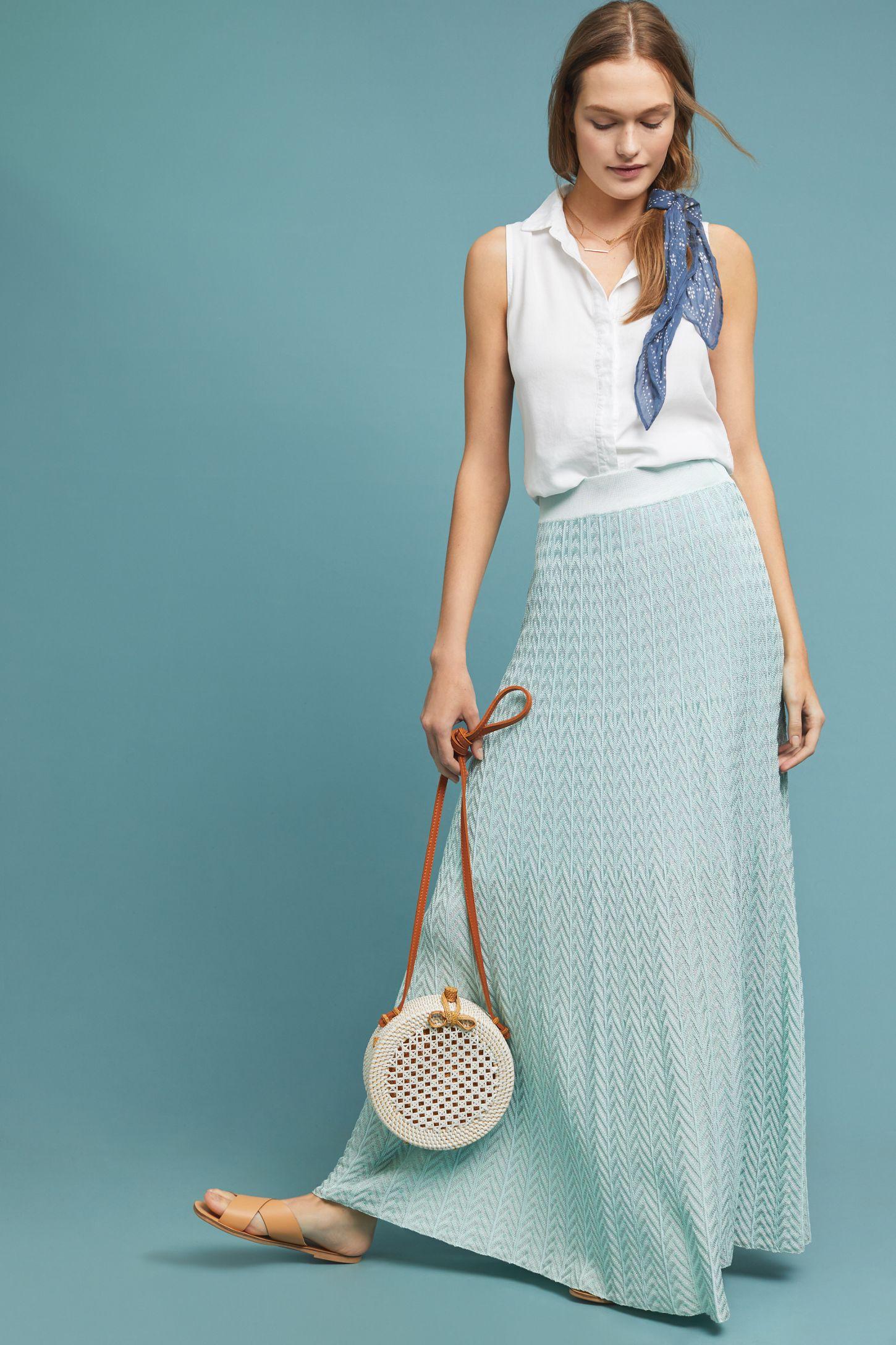 999a598dae Thalassa Knit Maxi Skirt | Anthropologie