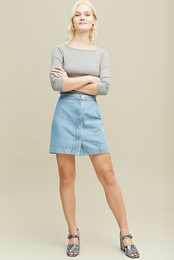 f01d6da59166 Cassandra Denim Skirt