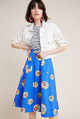 Colloquial Full Skirt by 52 Conversation By Anthropologie