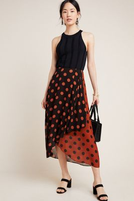 Oksana Midi Skirt by Maeve