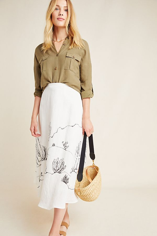Slide View: 1: Mayson Midi Skirt